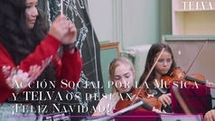 Villancico Jingle Bells con el que Acción Social por la Música nos felicita la Navidad