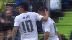 El gol de James a Guaita