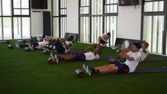 Así fue el último entrenamiento de la Selección en Barranquilla