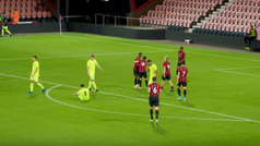 Golazo 'a lo Guardiola' en las inferiores del AFC Bournemouth