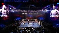 AR: El espectacular KO de Teófimo López a los 44 segundos