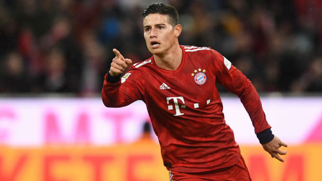 Ancelotti y James dispuestos a reencontrarse