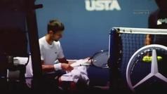 AR-Novak Djokovic y un inspirador mensaje previo a la final del US Open