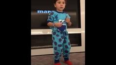 El genial vídeo de los hijos de Messi bailando... ¡derriten las redes con sus movimientos!