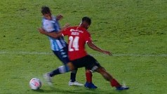 El penal inexistente de Racing contra Independiente
